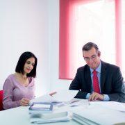 Virginia Velasco y Miguel Olmedo, abgados fundadores del despacho Olmedo&Velasco Abogados